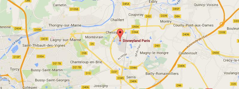 disneyland adres