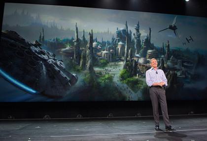 Disney gaat 'Stars Wars'-pretparken bouwen